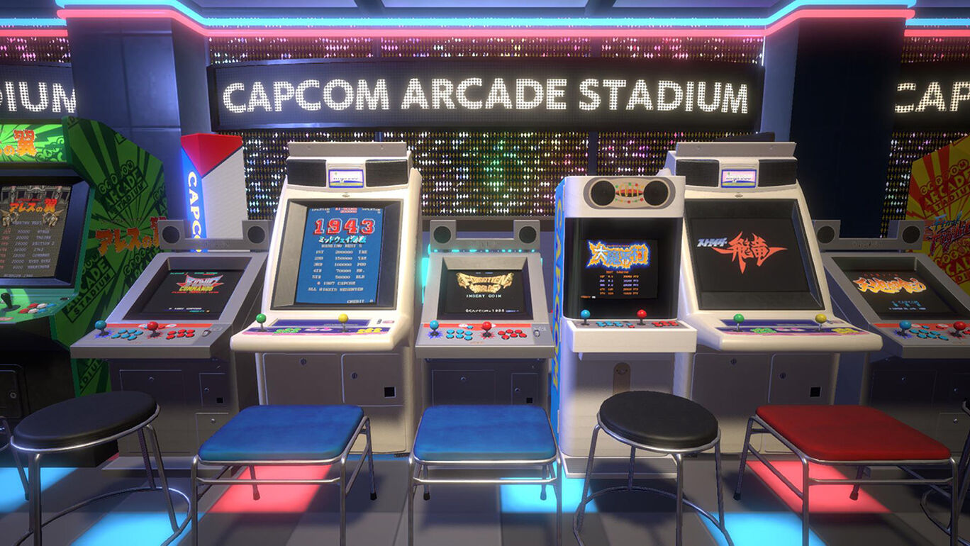 Capcom Arcade Stadium Packs 1, 2, 3セット