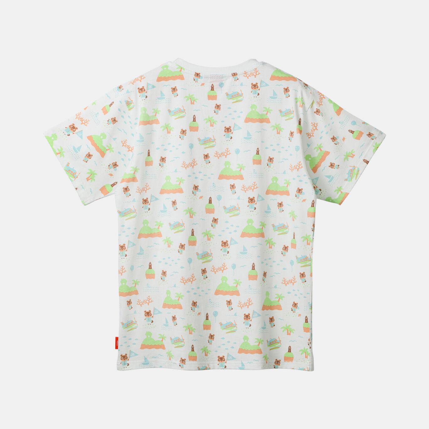 TシャツB S あつまれ どうぶつの森【Nintendo TOKYO取り扱い商品】
