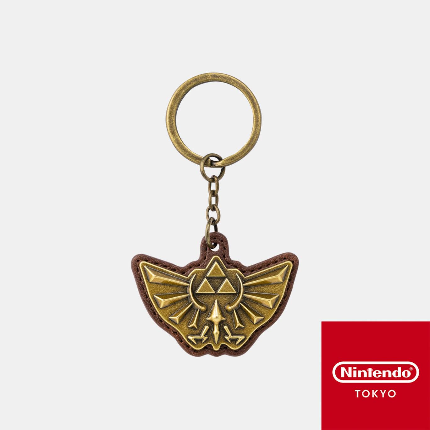 キーホルダー ゼルダの伝説 A【Nintendo TOKYO取り扱い商品】