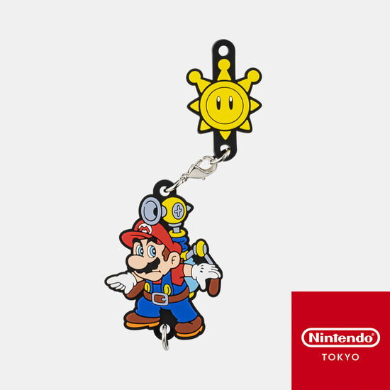 つながるラバーストラップ スーパーマリオ 3Dコレクション スーパーマリオサンシャイン【Nintendo TOKYO取り扱い商品】