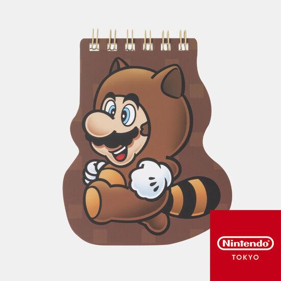 ダイカットメモ帳 スーパーマリオ パワーアップ E【Nintendo TOKYO取り扱い商品】