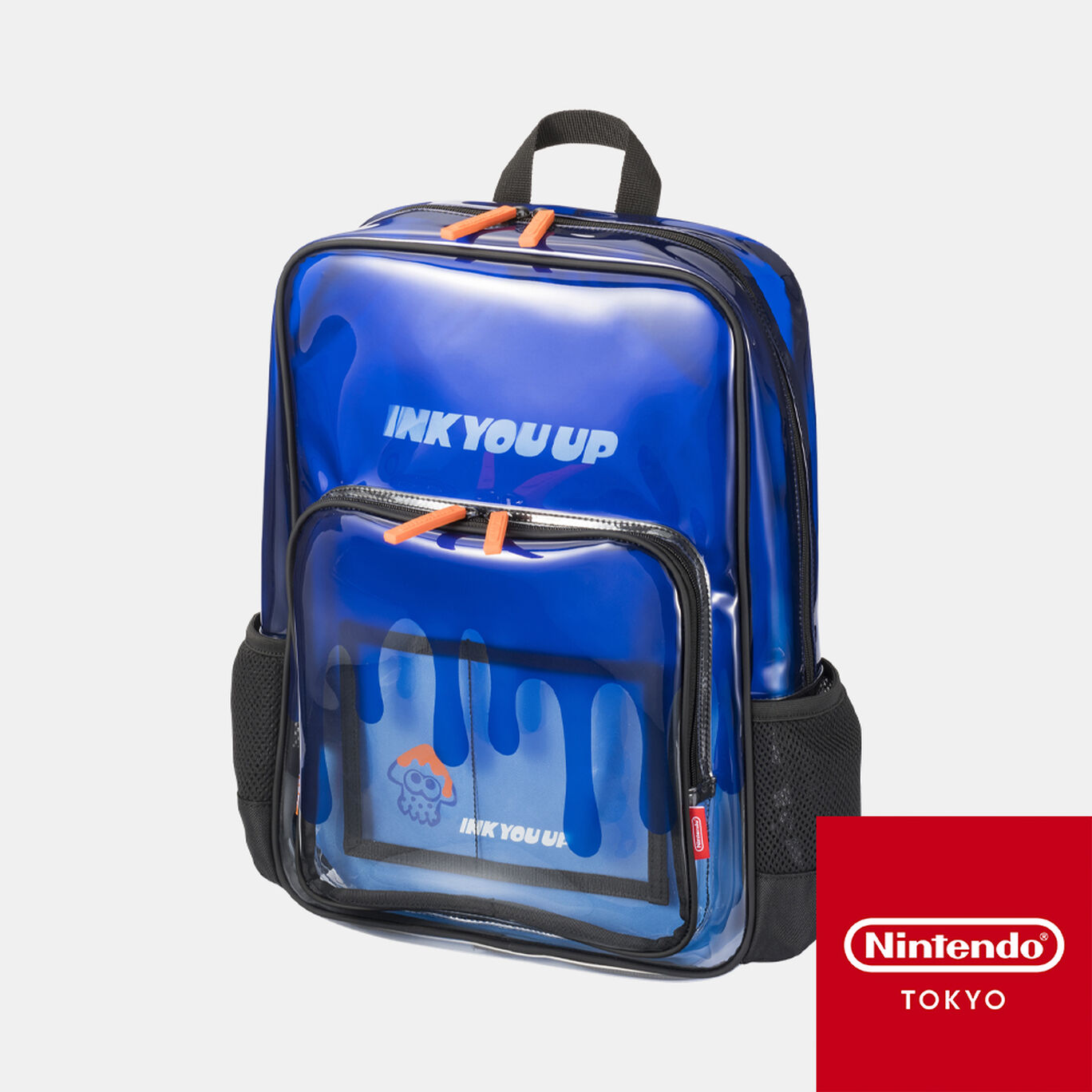 クリアリュック INK YOU UP【Nintendo TOKYO取り扱い商品】