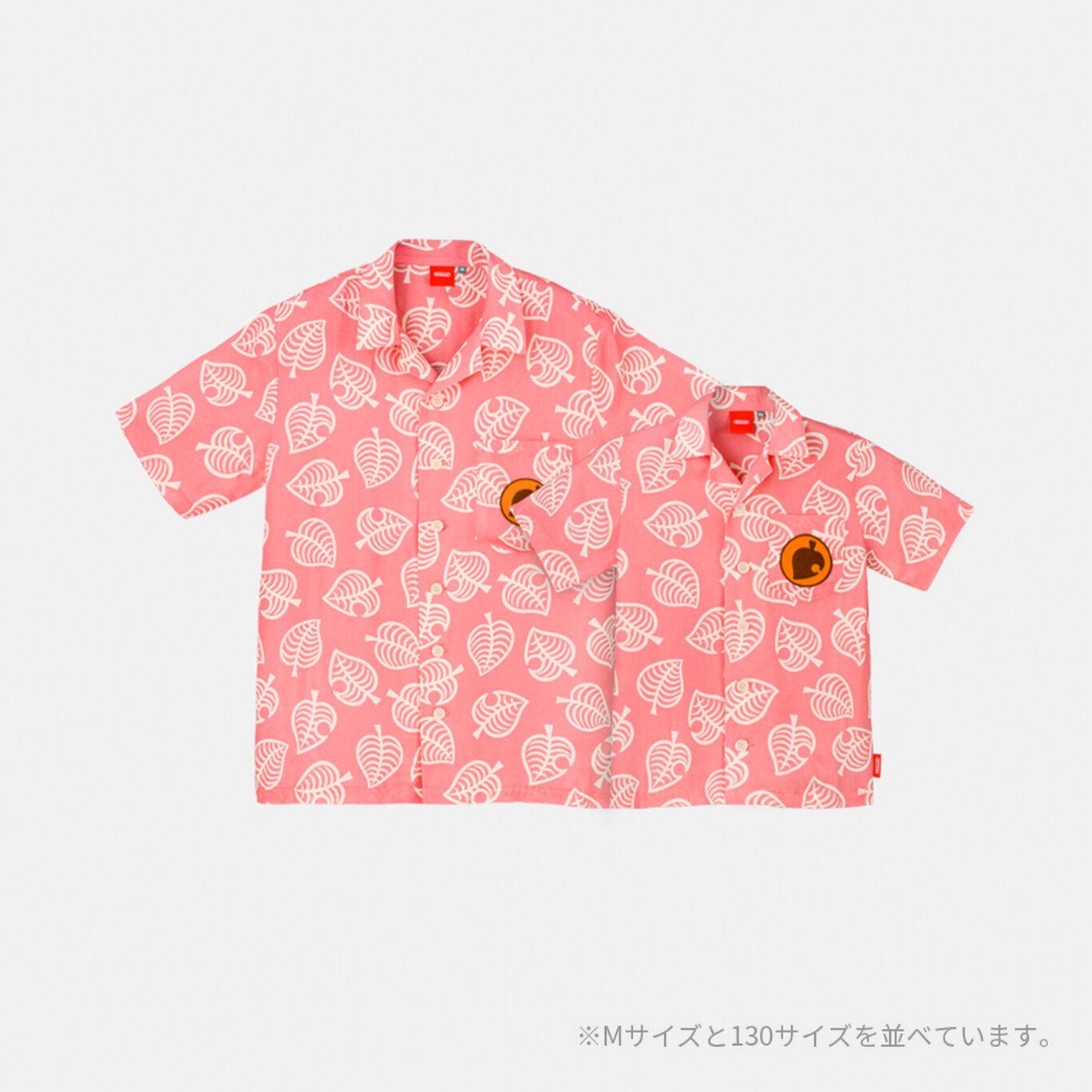 しずえのアロハシャツ130 あつまれ どうぶつの森【Nintendo TOKYO取り扱い商品】