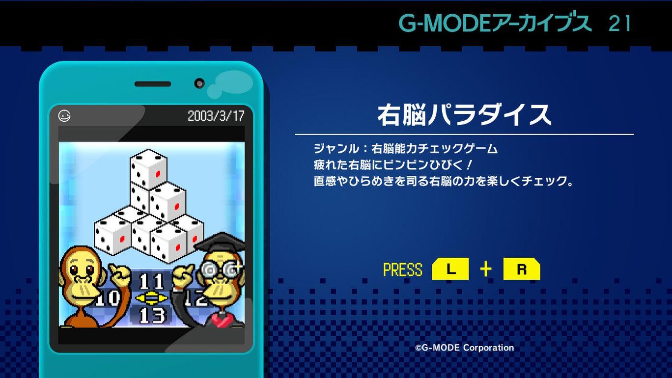 G-MODEアーカイブス21 右脳パラダイス