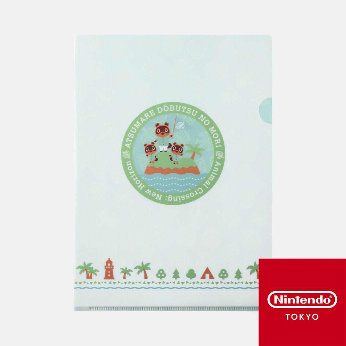 クリアファイルA あつまれ どうぶつの森【Nintendo TOKYO取り扱い商品】
