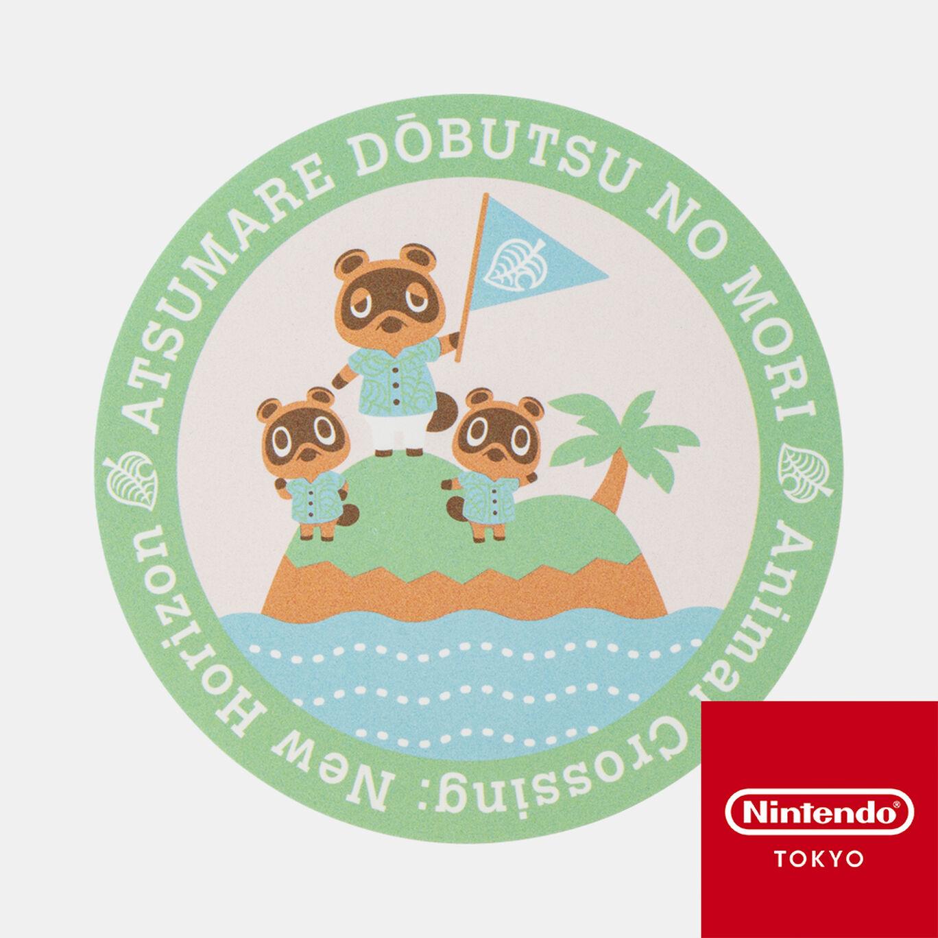 ダイカットステッカーA あつまれ どうぶつの森【Nintendo TOKYO取り扱い商品】
