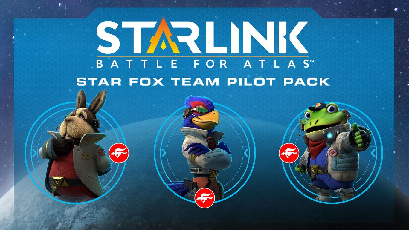 スターリンク バトル・フォー・アトラス - パイロットパック:スターフォックスチーム