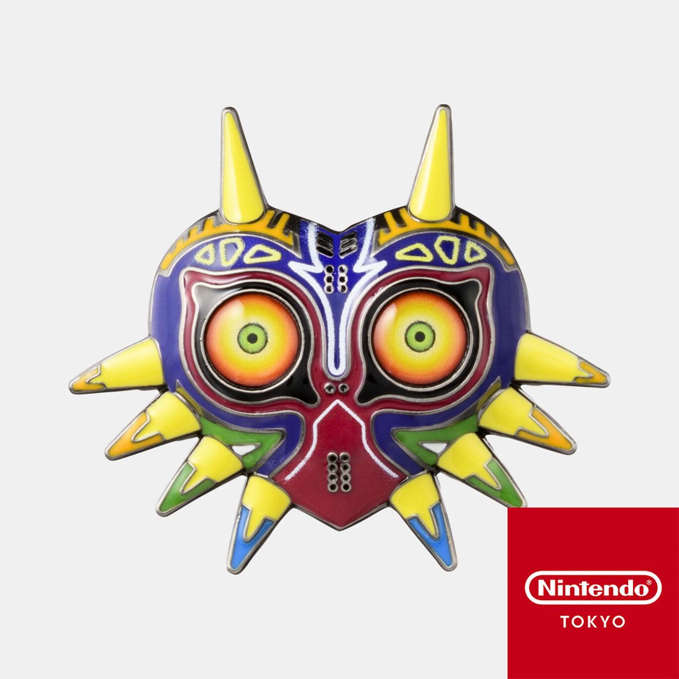 ピンズ ムジュラの仮面 ゼルダの伝説【Nintendo TOKYO取り扱い商品】
