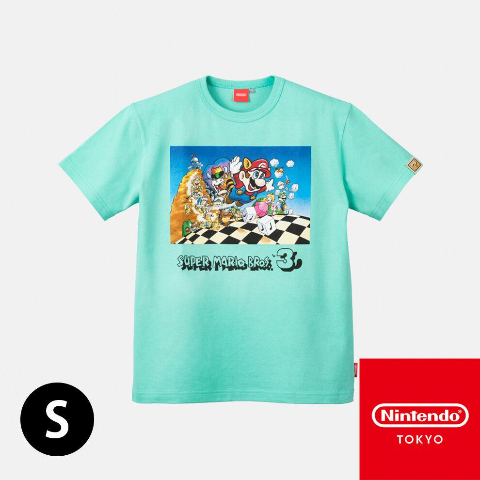 Tシャツ スーパーマリオブラザーズ3 S【Nintendo TOKYO取り扱い商品】