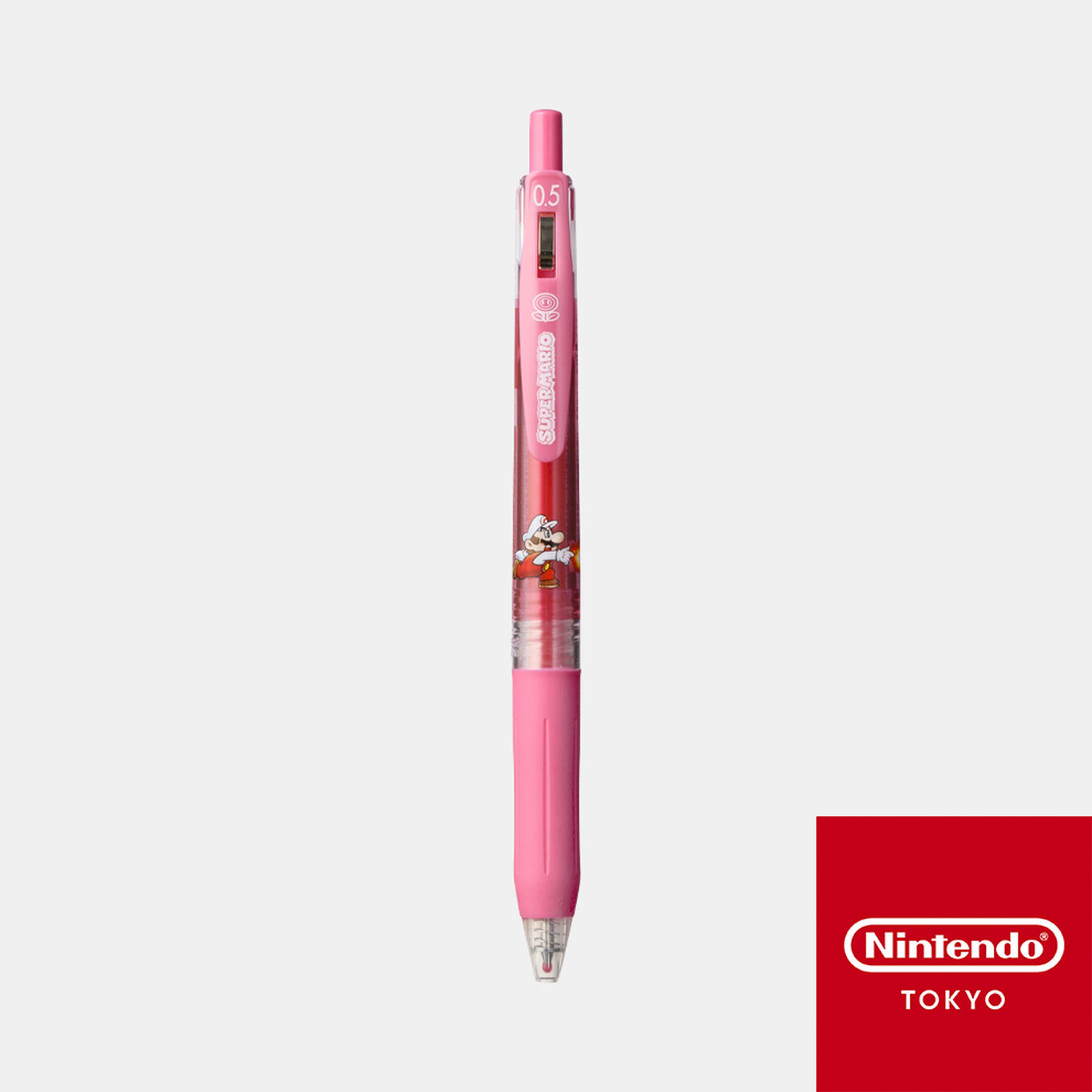 SARASAクリップ スーパーマリオ パワーアップ H【Nintendo TOKYO取り扱い商品】