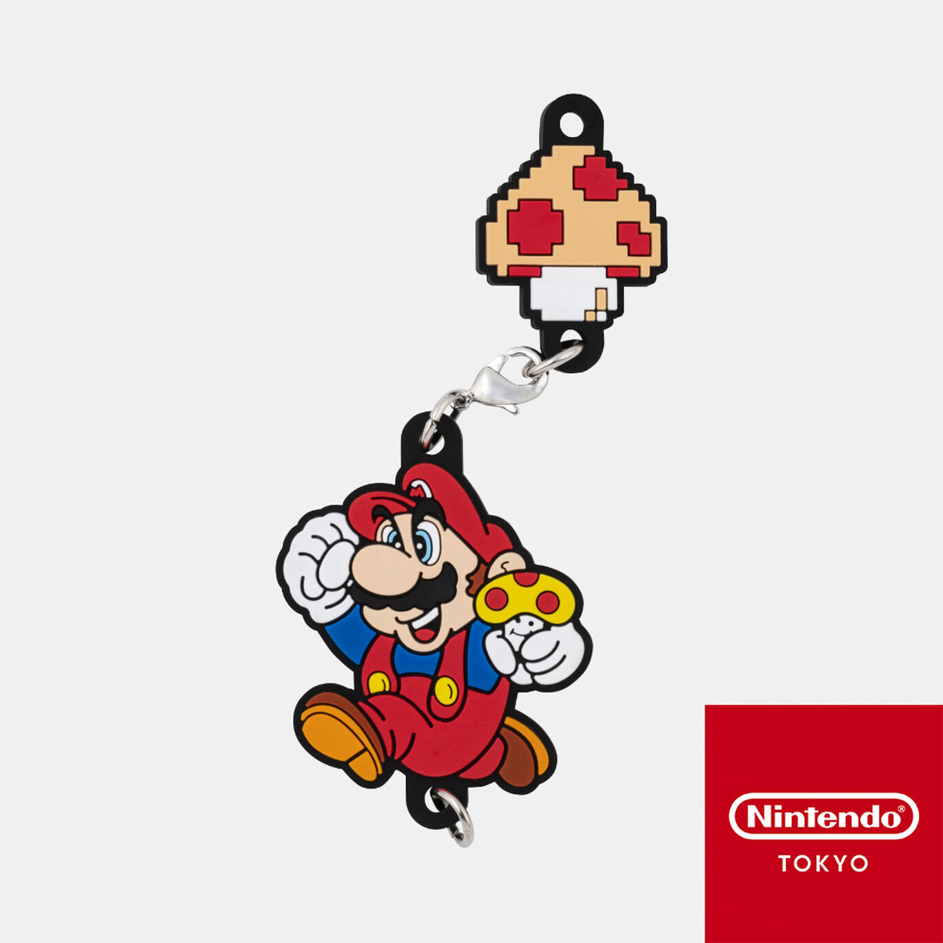 つながるラバーストラップ スーパーマリオブラザーズ【Nintendo TOKYO取り扱い商品】