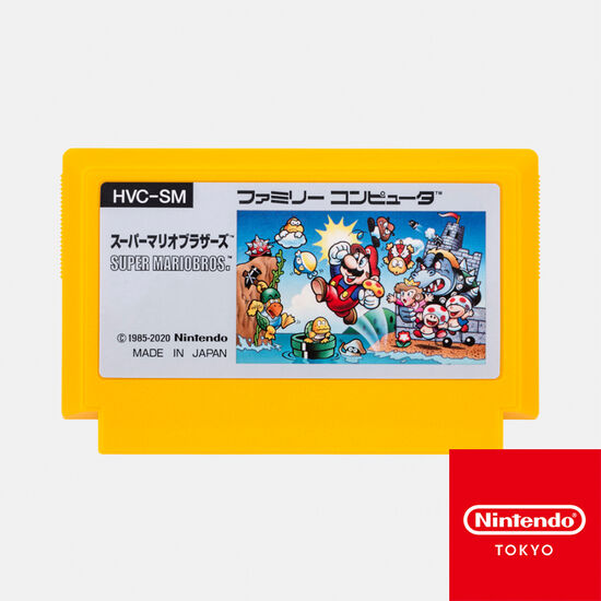 カセット型ケース付きメモ スーパーマリオブラザーズ【Nintendo TOKYO取り扱い商品】