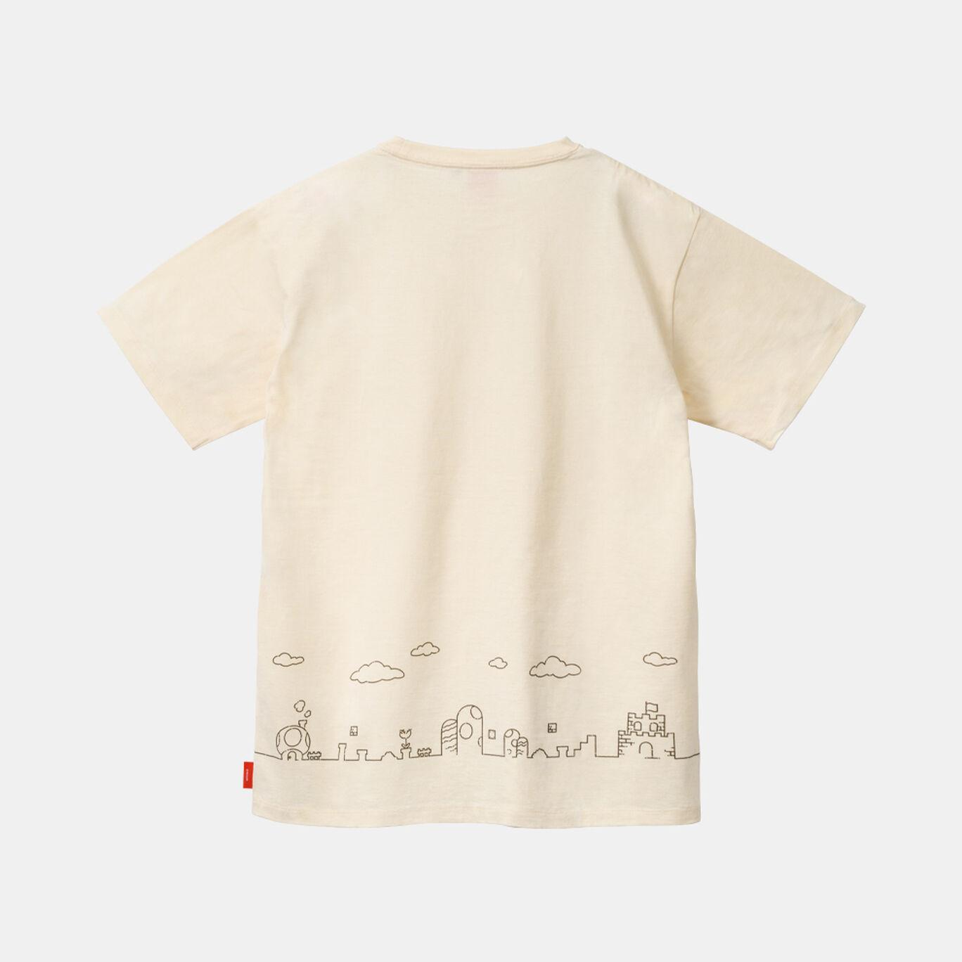 Tシャツ スーパーマリオファミリーライフ A M【Nintendo TOKYO取り扱い商品】