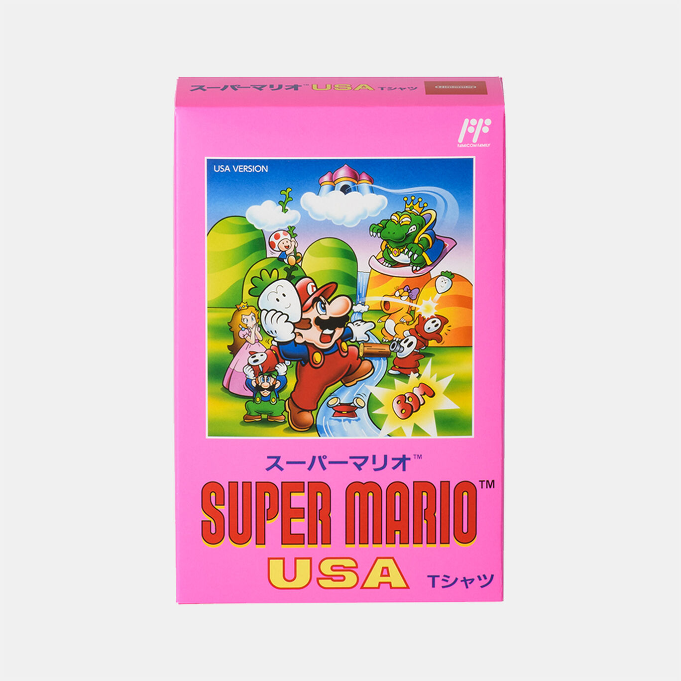 Tシャツ スーパーマリオUSA S【Nintendo TOKYO取り扱い商品】