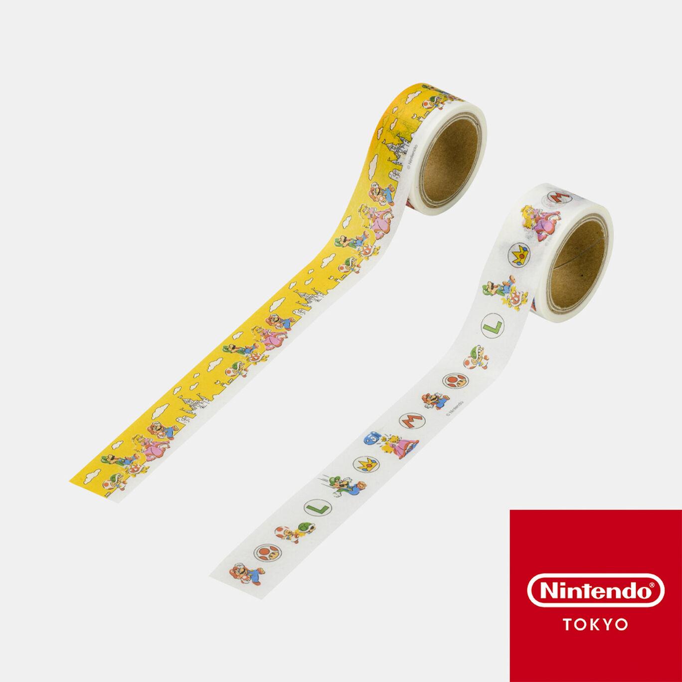 マスキングテープ スーパーマリオファミリーライフ【Nintendo TOKYO取り扱い商品】