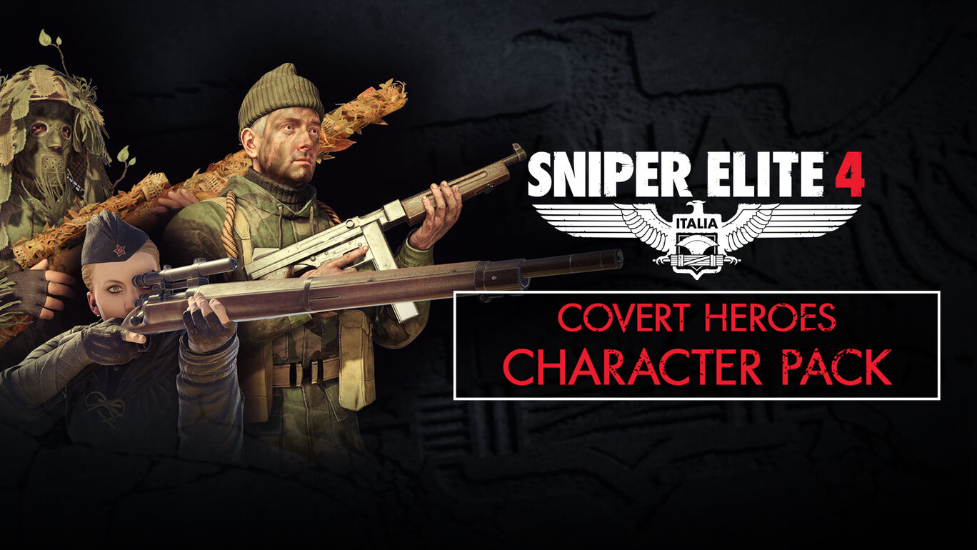 Sniper Elite 4 - Covert Heroes Character Pack