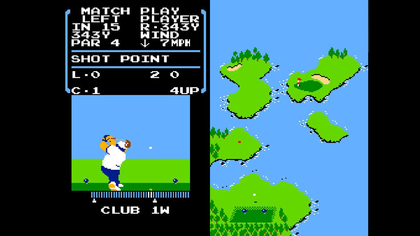 アーケードアーカイブス ゴルフ