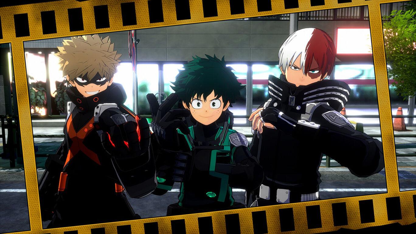 僕のヒーローアカデミア One's Justice2:ワールドヒーローズスーツセット