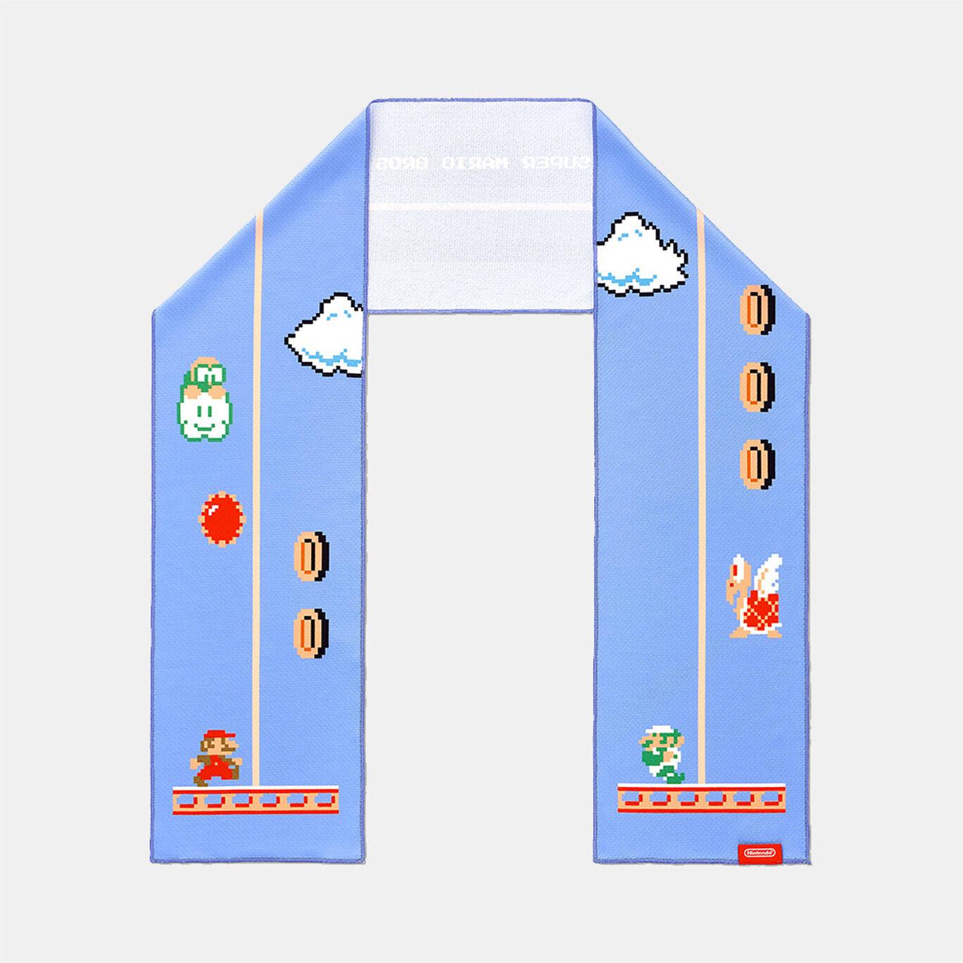 スーパーマリオ トラベル クールタオル(てんびんリフト)