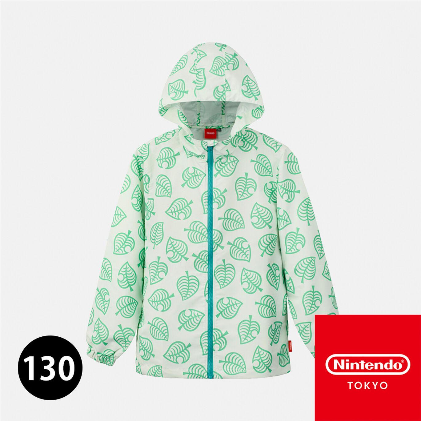 ウィンドブレーカー 130 あつまれ どうぶつの森【Nintendo TOKYO取り扱い商品】