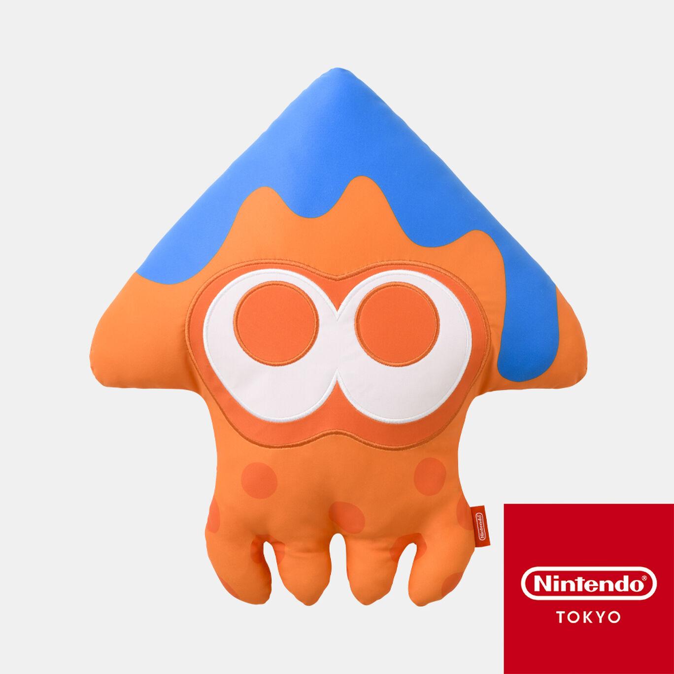 イカクッション オレンジ INK YOU UP【Nintendo TOKYO取り扱い商品】