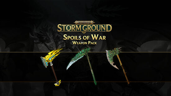 Warhammer Age of Sigmar: Storm Ground - Spoils of War Weapon Pack
