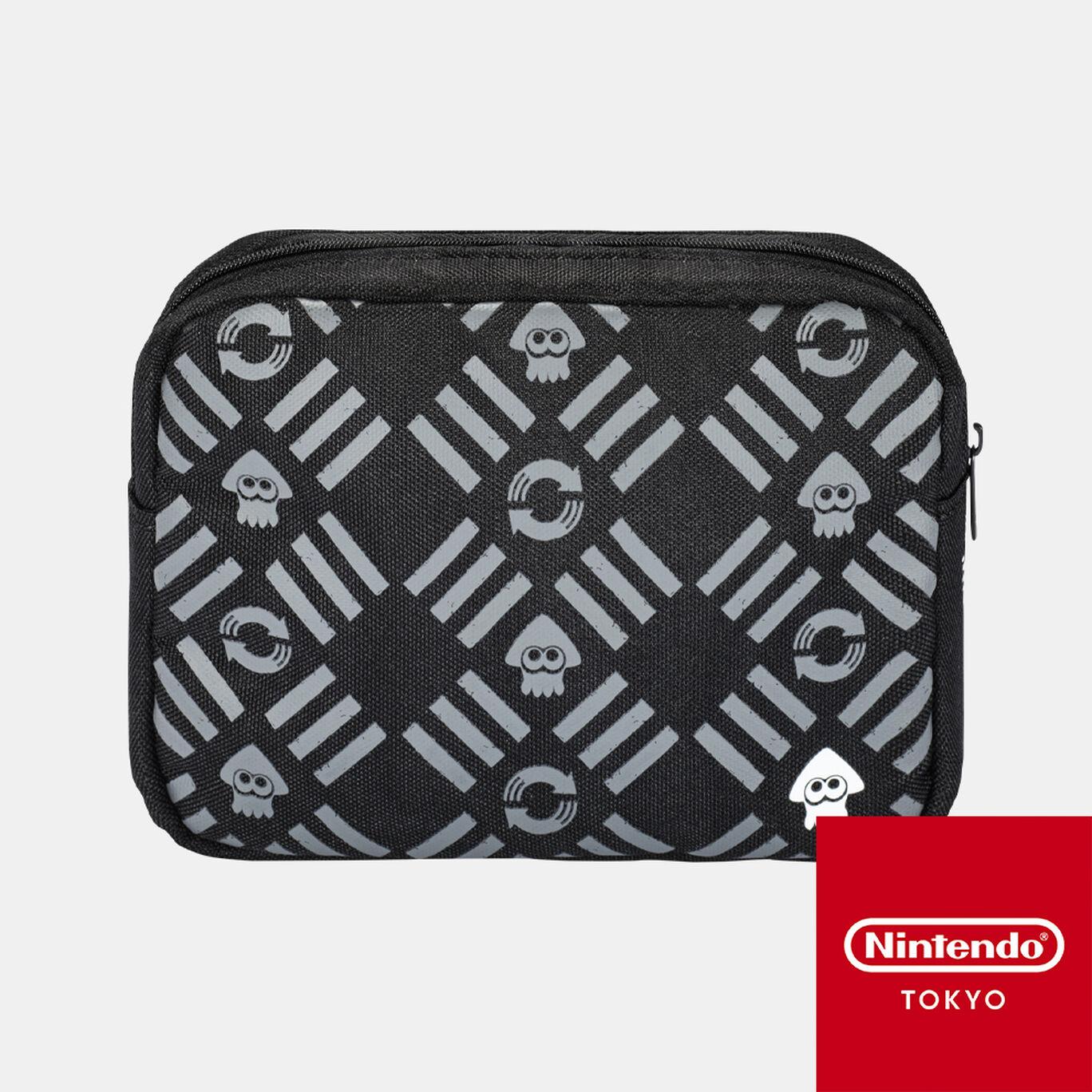 スクエアポーチ CROSSING SPLATOON【Nintendo TOKYO取り扱い商品】