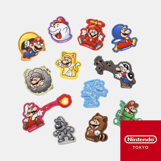 フレークシール スーパーマリオ パワーアップ【Nintendo TOKYO取り扱い商品】