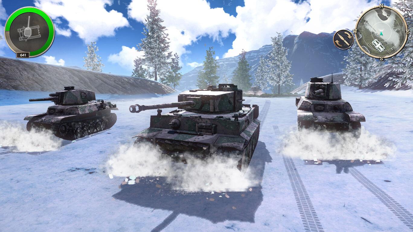 インフィニット・タンク WW2