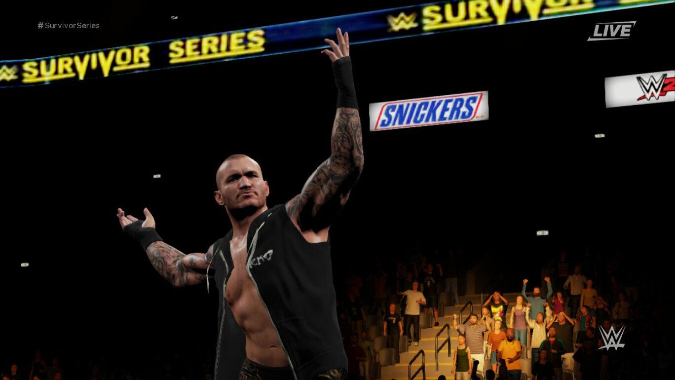 WWE 2K18 MyPLAYER Kick Start