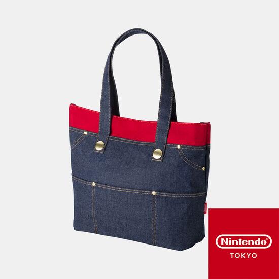 トートバック スーパーマリオ【Nintendo TOKYO取り扱い商品】