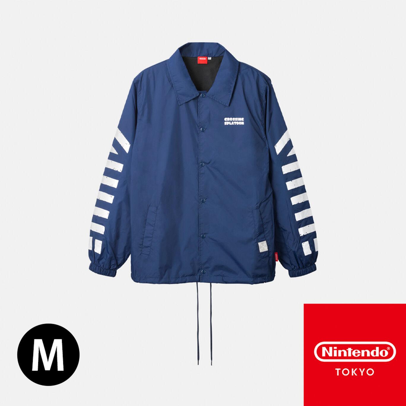 コーチジャケット CROSSING SPLATOON M【Nintendo TOKYO取り扱い商品】