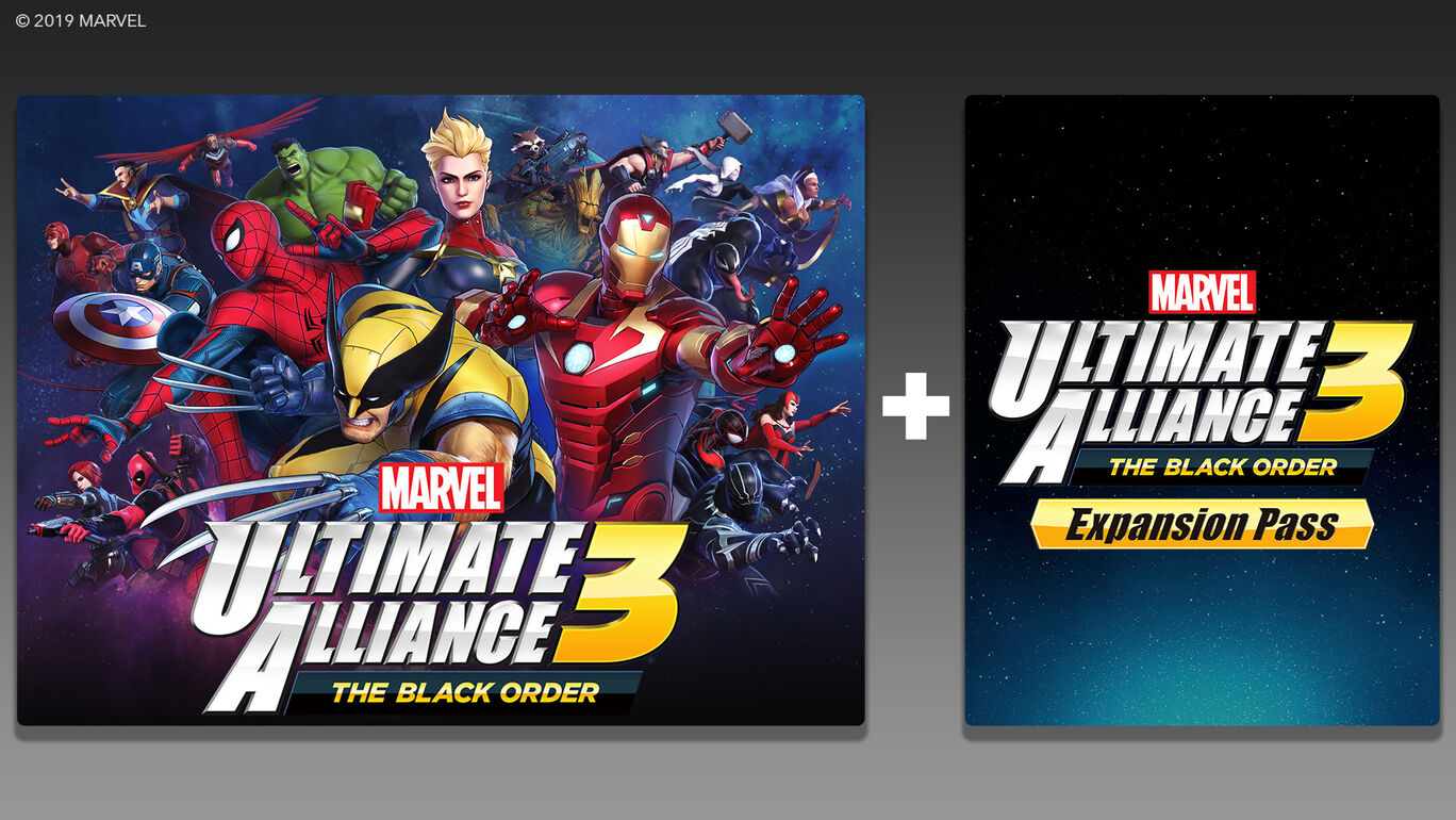 MARVEL ULTIMATE ALLIANCE 3: The Black Order + Expansion Pass セット