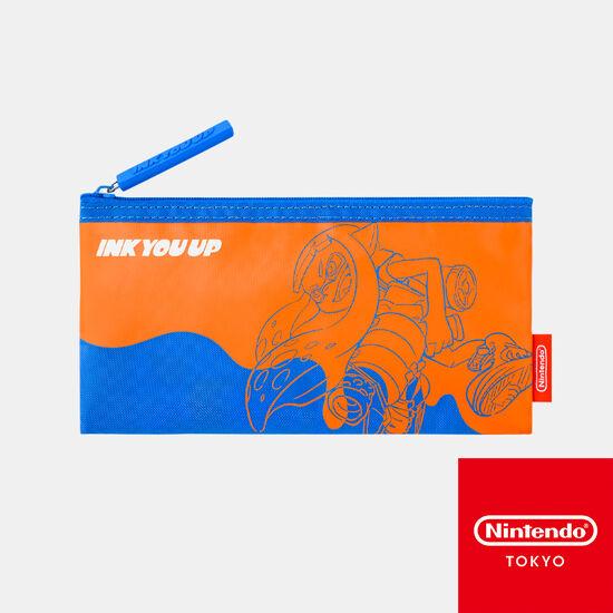 フラットポーチ INK YOU UP【Nintendo TOKYO取り扱い商品】