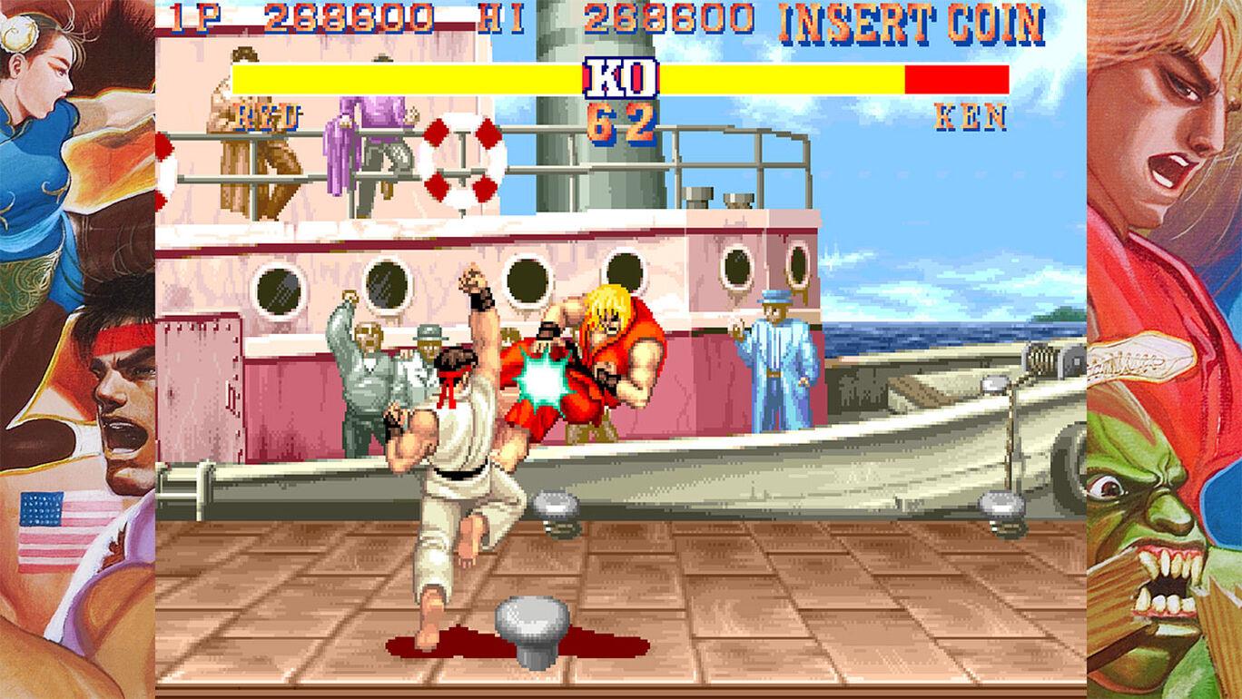 Capcom Arcade Stadium:ディスプレイフレームセット1
