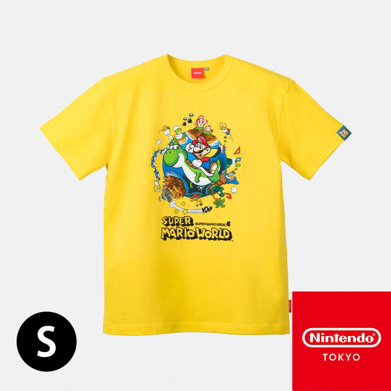 Tシャツ スーパーマリオワールド S【Nintendo TOKYO取り扱い商品】