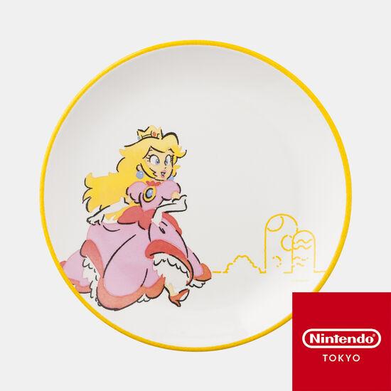 メラミンプレート スーパーマリオファミリーライフ ピーチ【Nintendo TOKYO取り扱い商品】