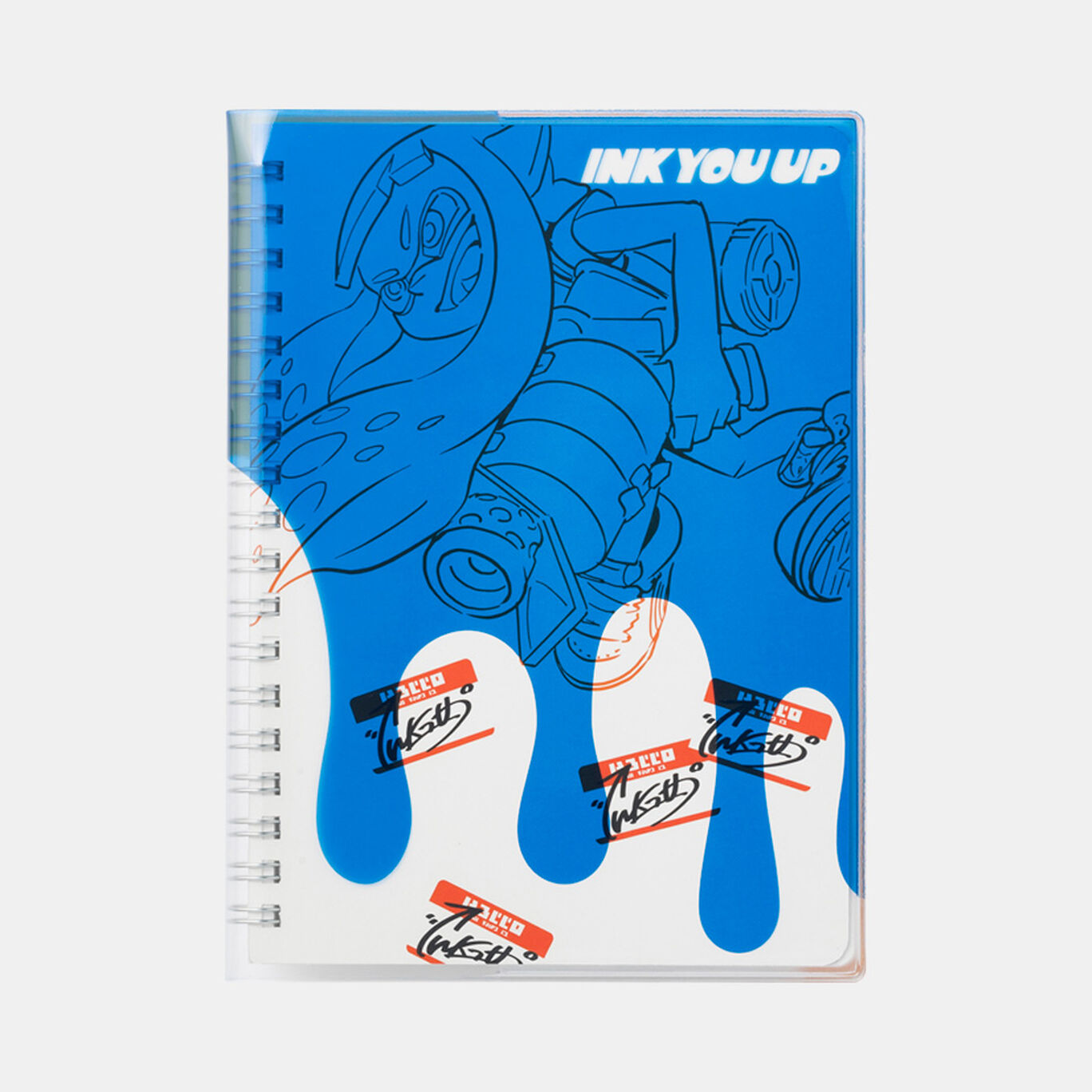 カバー付きB6リングノート INK YOU UP【Nintendo TOKYO取り扱い商品】