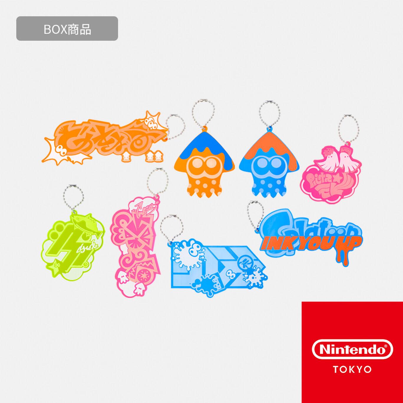 【BOX商品】アクリルチャームコレクション  INK YOU UP【Nintendo TOKYO取り扱い商品】