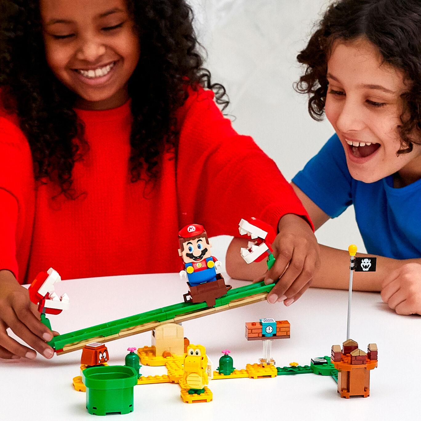 レゴ(R)スーパーマリオ パックンフラワー の バランス チャレンジ