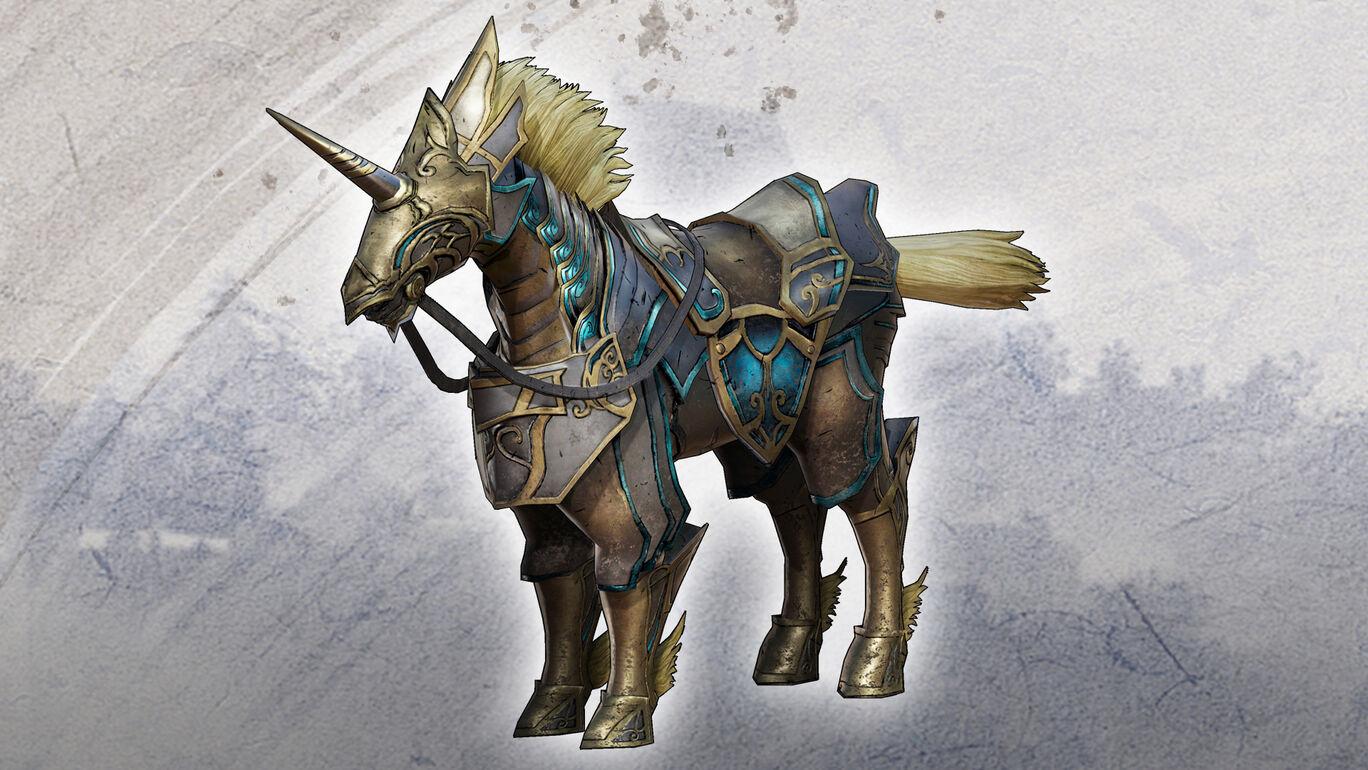 追加軍馬「銀纏」