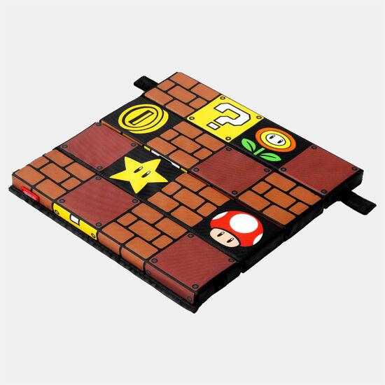 スーパーマリオ トラベル 折りたたみクッション(ブロック)