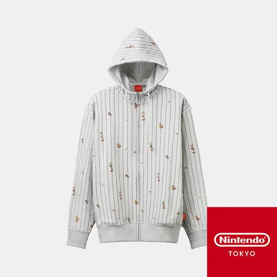 パーカー  スーパーマリオファミリーライフ 【Nintendo TOKYO取り扱い商品】