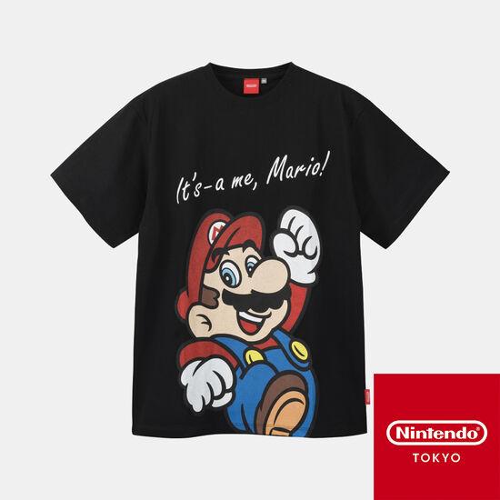Tシャツ スーパーマリオ A【Nintendo TOKYO取り扱い商品】