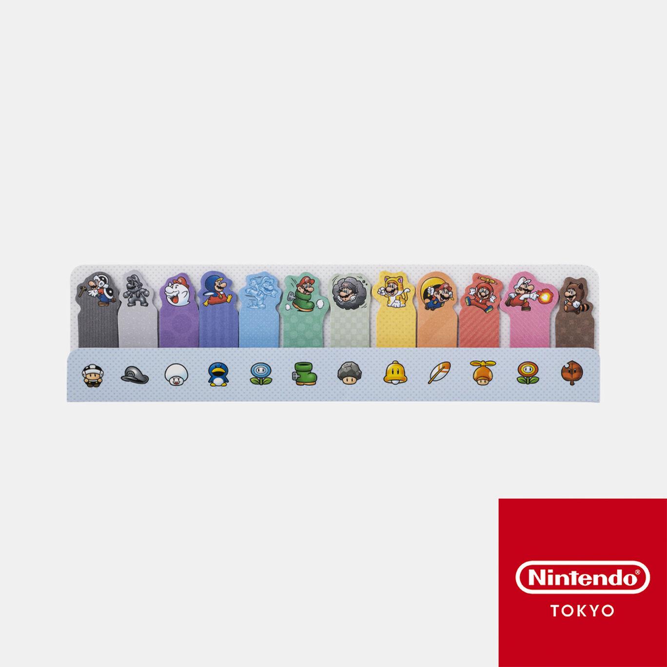 付箋 スーパーマリオ パワーアップ【Nintendo TOKYO取り扱い商品】