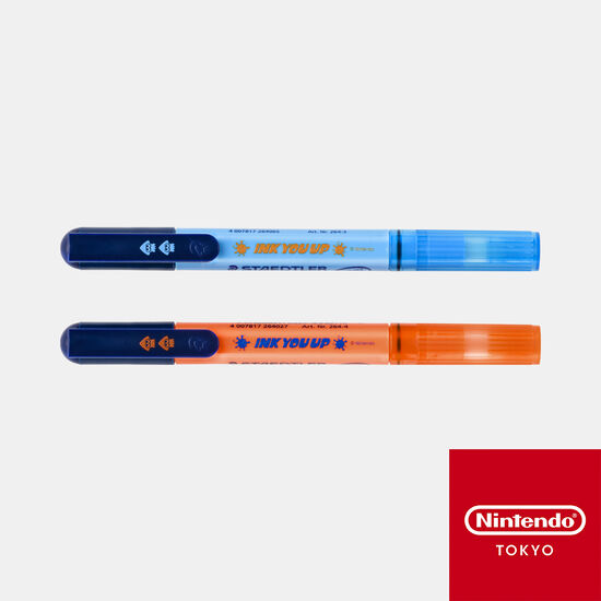 蛍光マーカー  INK YOU UP【Nintendo TOKYO取り扱い商品】
