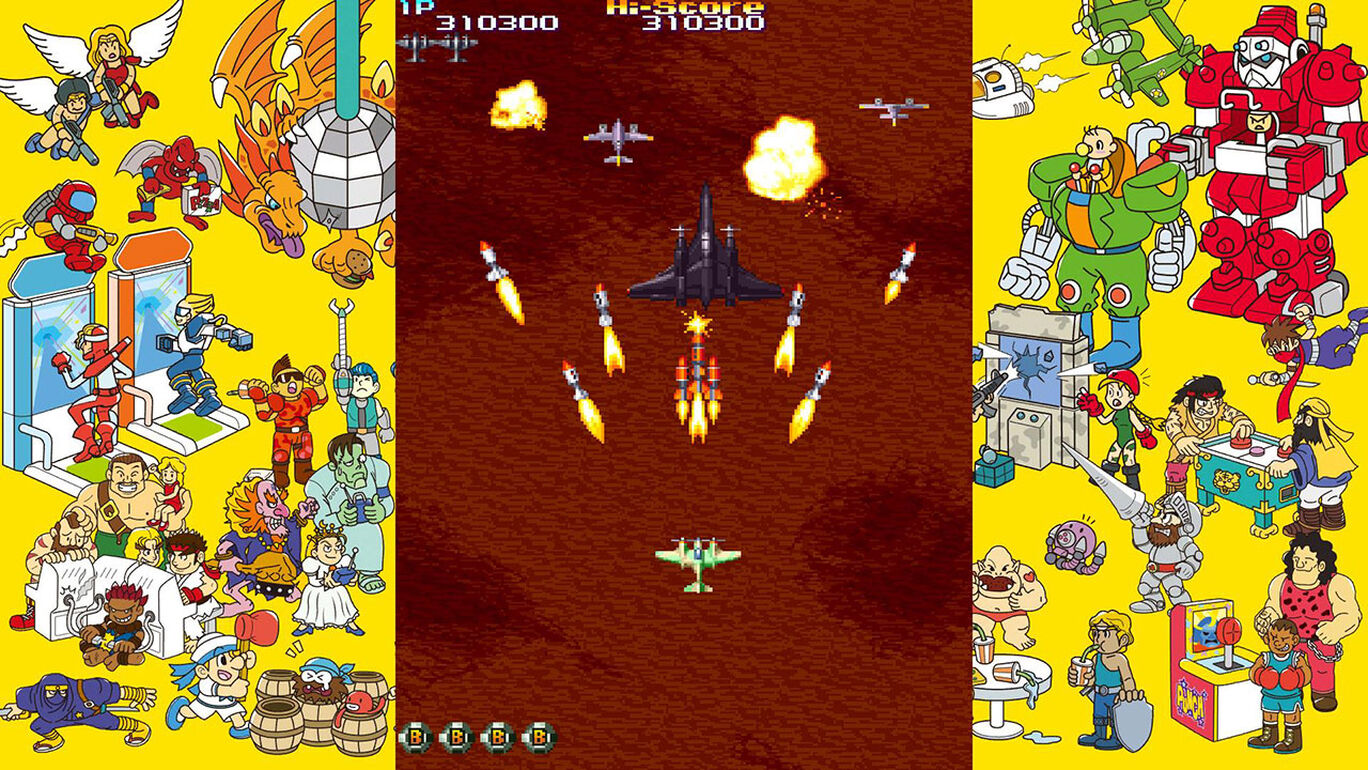 Capcom Arcade Stadium:19XX - The War Against Destiny -
