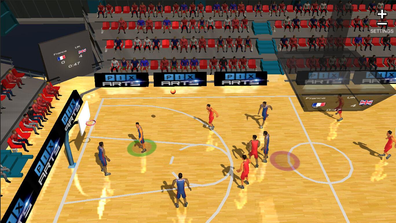 International Basketball (インターナショナル・バスケットボール)