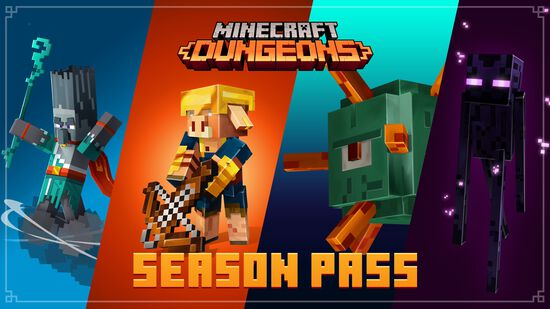 Minecraft Dungeons: Season Pass (シーズンパス)