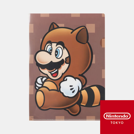 クリアファイル スーパーマリオ パワーアップ C【Nintendo TOKYO取り扱い商品】